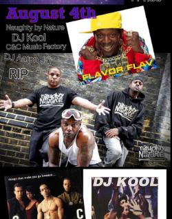 Naughty By Nature, DJ Kool, C&C Music Factory, Flavor Flav August 4th at the Crystal Grand in Wisconsin Dells!
