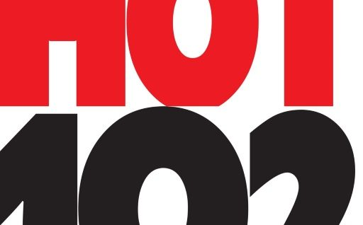 HOT102 vertical logo