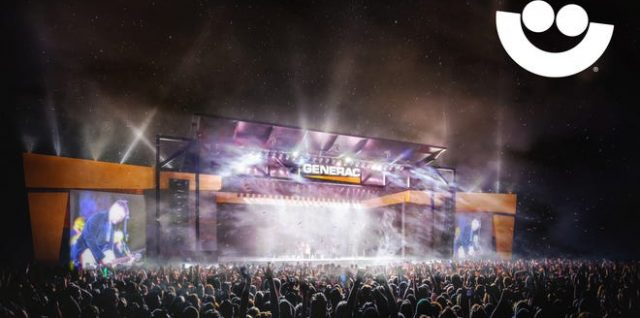 Rendering of the Generac Power Stage for Summerfest 2021